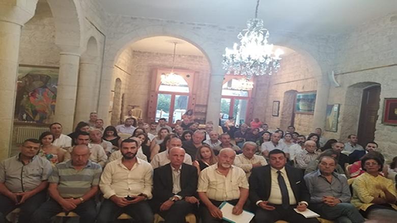 """لقاء حواري في الشوف جمع """"الخريجين التقدميين"""" ونقابة خبراء المحاسبة المجازين في لبنان"""