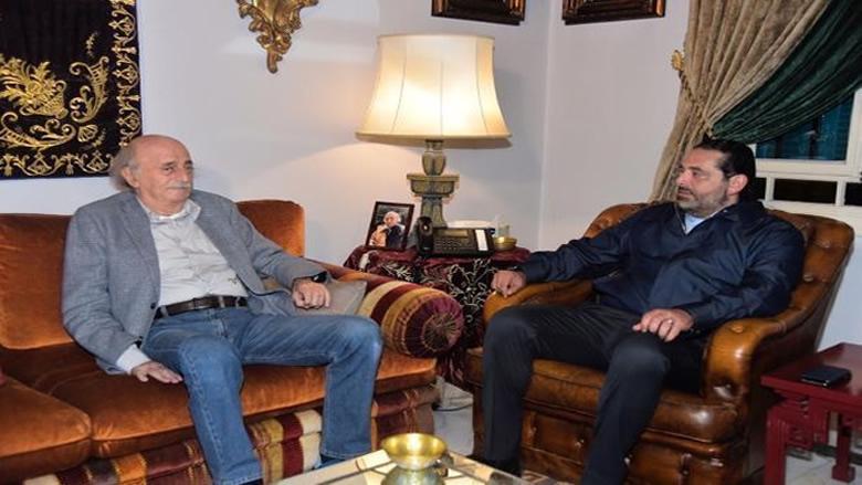 الحريري بعد لقائه جنبلاط: أساس موازنة 2020 هو خطة على 3 سنوات.. وجنبلاط: الأهم مصلحة البلد