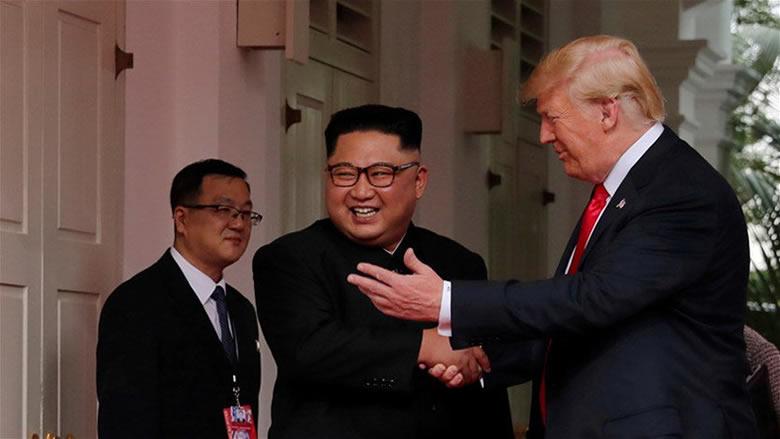 زعيم كوريا الشمالية دعا ترامب لزيارة بيونغ يانغ