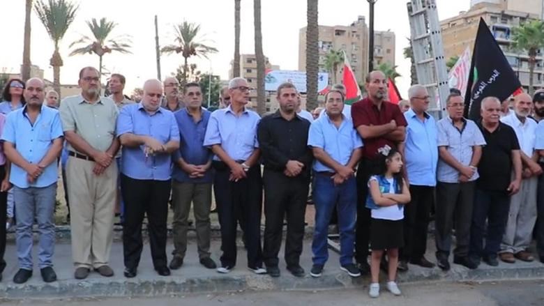 """إحياء الذكرى لـ37 لانطلاقة جبهة المقاومة الوطنية بمشاركة """"التقدمي""""- في الجنوب"""