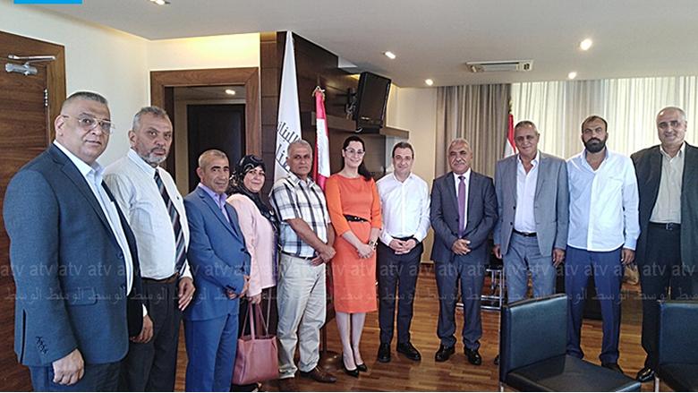 أبو فاعور التقى اللجنة التنظيمية لمعرض الصناعة في المنية