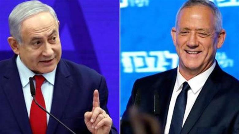 نتانياهو وغانتس متعادلان بعد فرز جميع الأصوات تقريبا