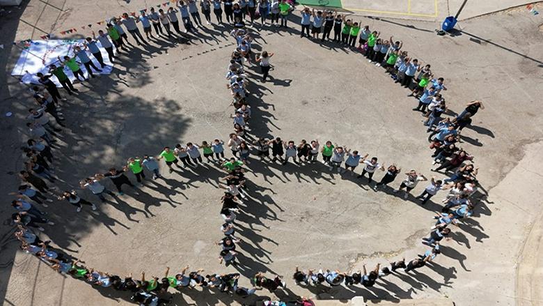 """كرنفال العودة إلى المدرسة في """"المنار الحديثة"""": يوم للسلام وتعزيز المواطنة الصالحة"""