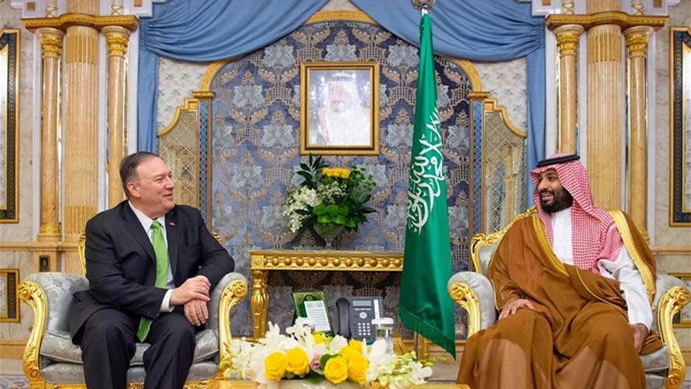 بومبيو يلتقي بن سلمان: الولايات المتحدة تدعم حق السعودية في الدفاع عن نفسها