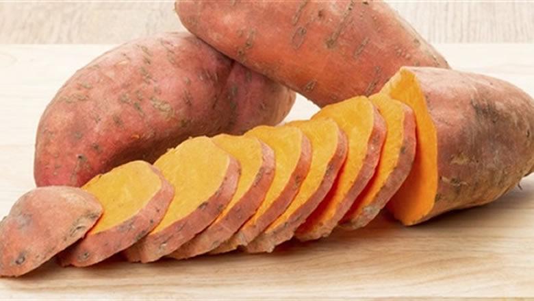 تناولوا البطاطا الحلوة لانقاص الوزن