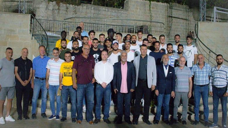 #فيديو_الانباء: الصفاء الرياضي يقدم لاعبيه لموسم 2019-2020