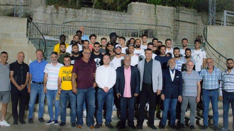 الصفاء الرياضي يقدم لاعبيه لموسم 2019-2020