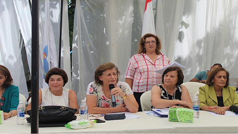 """""""الوطني للتنمية والتأهيل"""" يستضيف الجمعيات النسائية في الجبل"""