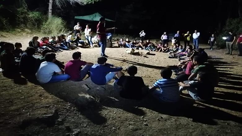"""""""الكشاف التقدمي"""" - بيصور أقامت مخيمها السنوي"""