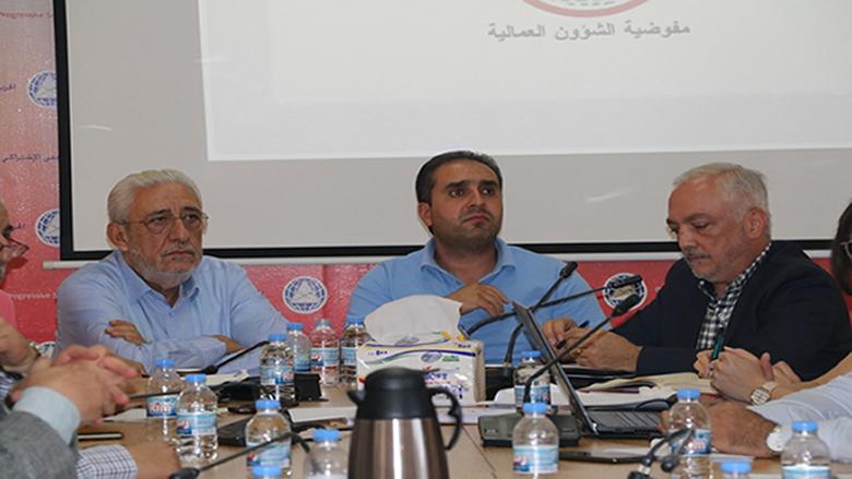 """اجتماع تنسيقي بين مفوضية العمل و""""التحرر العمالي"""" ووكلاء الداخلية"""