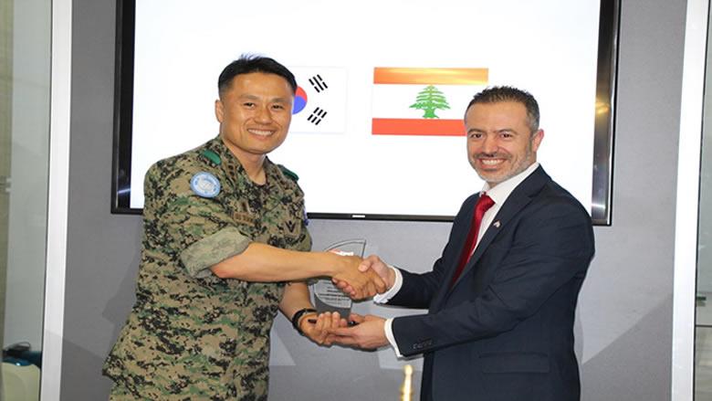 بروتوكول تعاون بين اتحاد التايكواندو والكتيبة الكورية الجنوبية في اليونيفيل