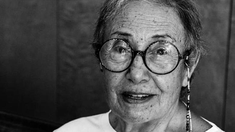 وفاة الفنانة التشكيلية اللبنانية أوغيت الخوري