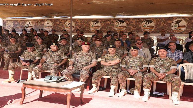 مناورة بالذخيرة الحية في الكنيسة كفرقوق بحضور قائد الجيش