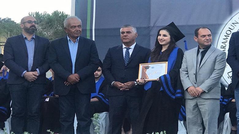 """حفل تخريج الطلاب الناجحين في""""ثانوية حرمون الرسمية"""" برعاية ابو فاعور"""