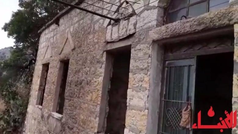#فيديو_الأنباء: هكذا نجت عائلة شوقي من انهيار سقف منزله
