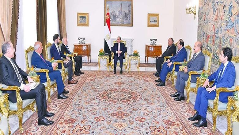 النائب جنبلاط: العلاقة المصرية اللبنانية مثال الأخوة والعروبة