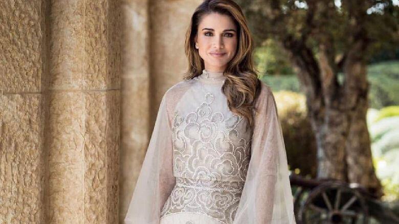 جلالة المكلة رانيا بإطلالة راقية!