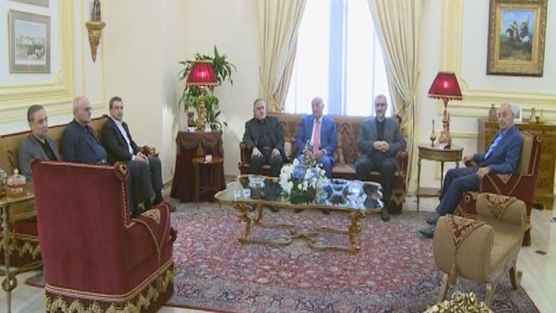 """بالصور: لقاء بين """"التقدمي"""" و""""حزب الله"""" في عين التينة برعاية بري"""