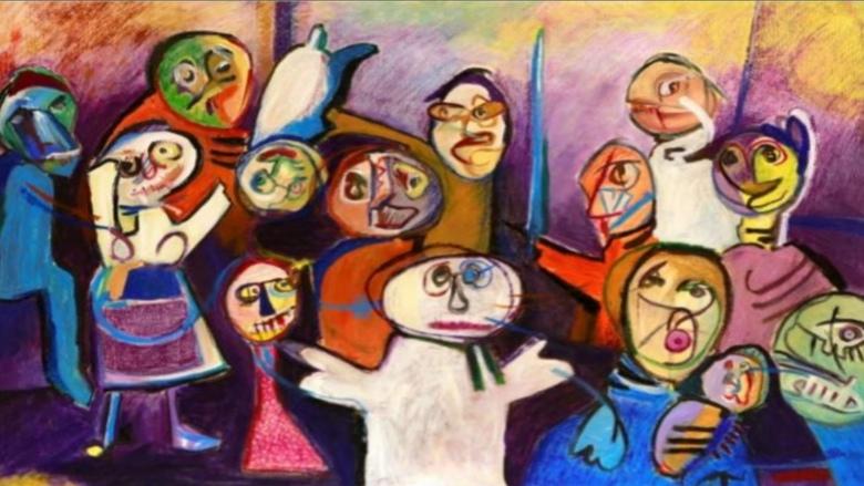 معرض الفنانة مهى أبو شقرا الخصائص الجمالية والحس الطفولي