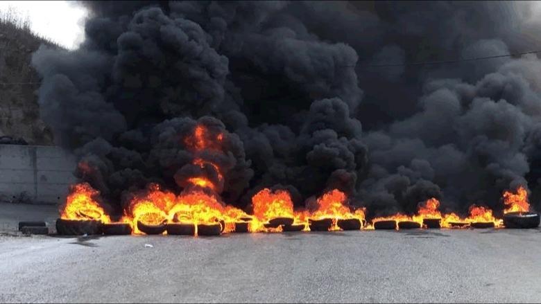 هذه الطرقات المقطوعة في طرابلس