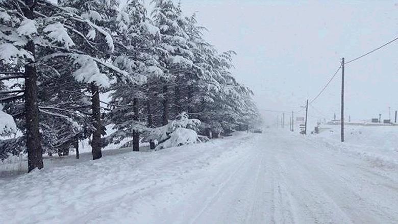 منخفض جويّ جديد... والثلوج على 900 متر