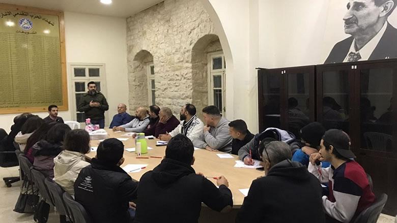 """""""مكتب الثقافة-الشويفات"""" يفتتح دورة الشهيد أبو فخر في المدرسة الحزبية"""
