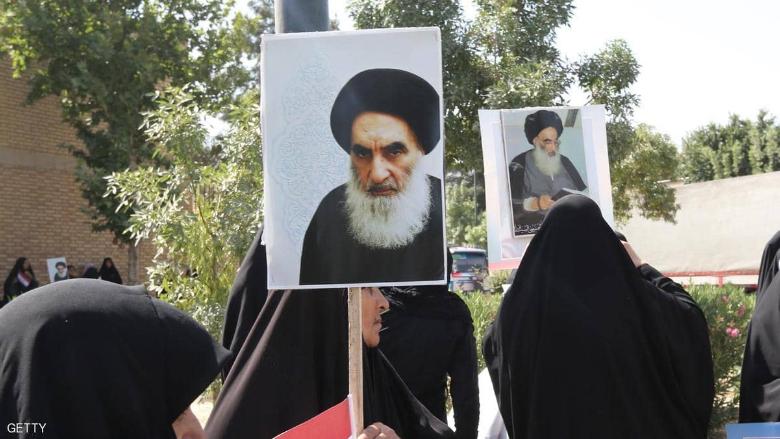 السيستاني يدعو لتشكيل حكومة عراقية جديدة