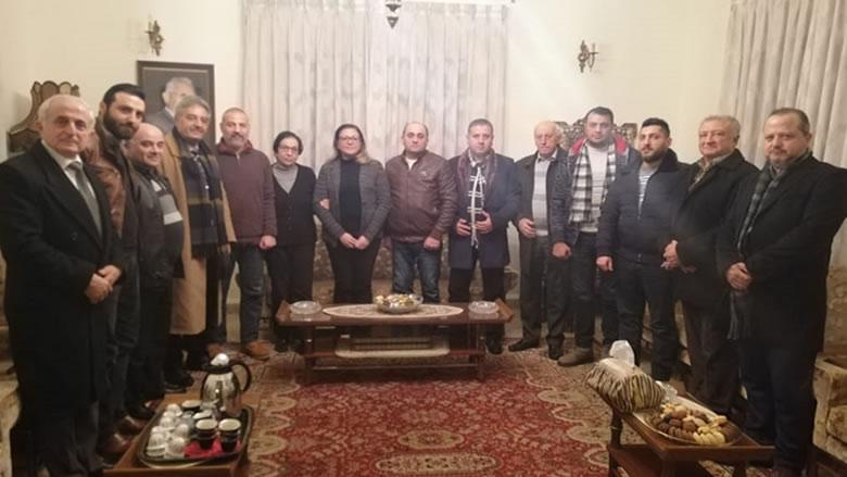 """""""التقدمي- بشتفين"""" زار عائلة المرحوم المقدم فياض"""