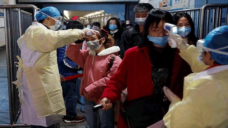 عدد وفيات فيروس كورونا في الصين يرتفع إلى 170 وعدد الإصابات 7711