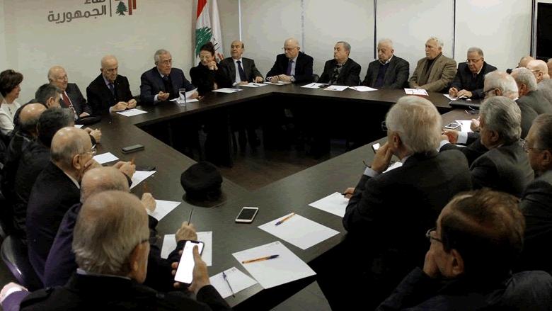"""""""لقاء الجمهورية"""": للتمسك بالمبادرة العربية للسلام"""