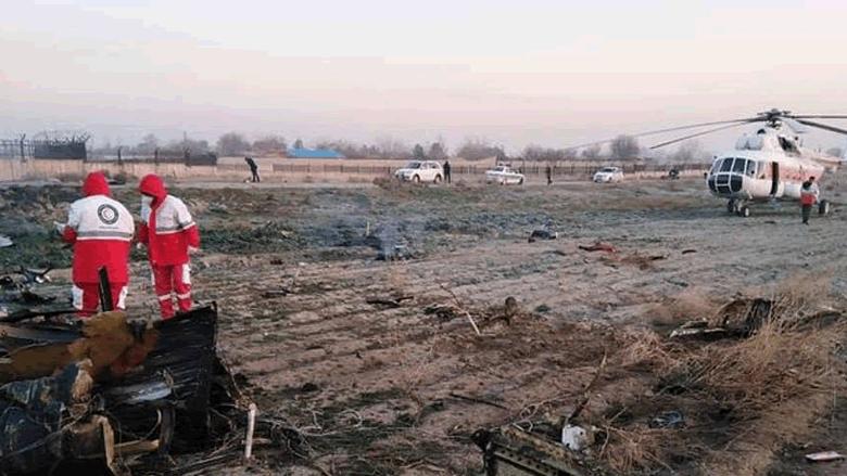 تحطم طائرة أوكرانية في إيران ومقتل جميع ركابها