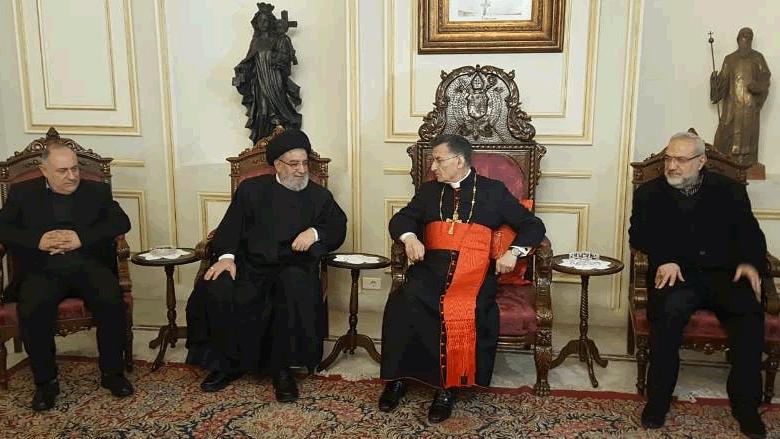 وفد حزب الله من بكركي: نقوم بكل ما يسهل تشكيل الحكومة بسرعة