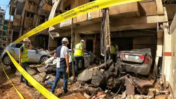 دياب وقّع قرارًا بتكليف الجيش الكشف على الأضرار الناتجة عن انفجار الطريق الجديدة