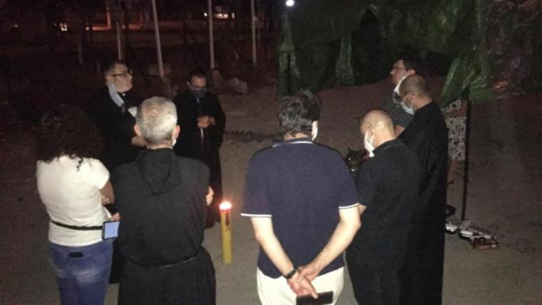 إعتصام لرهبان وراهبات من أجل العدالة لشهداء المرفأ