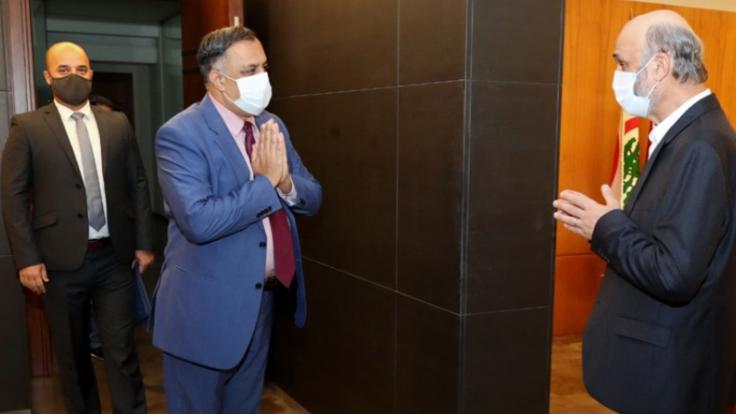 جعجع التقى سفيري أستراليا والهند