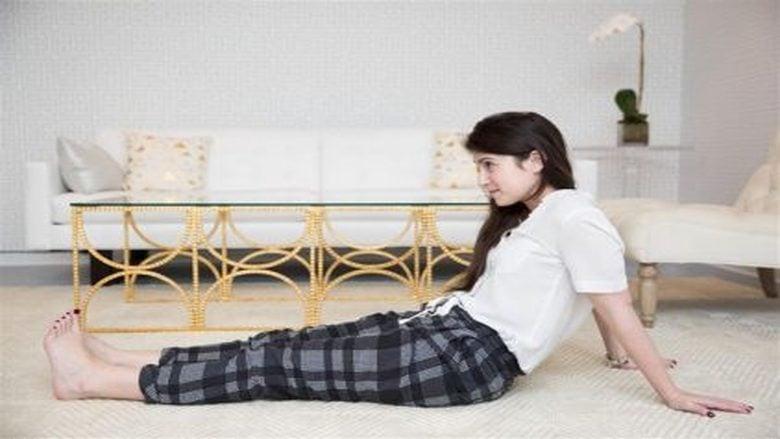الجلوس على الأرض أفضل لظهرك