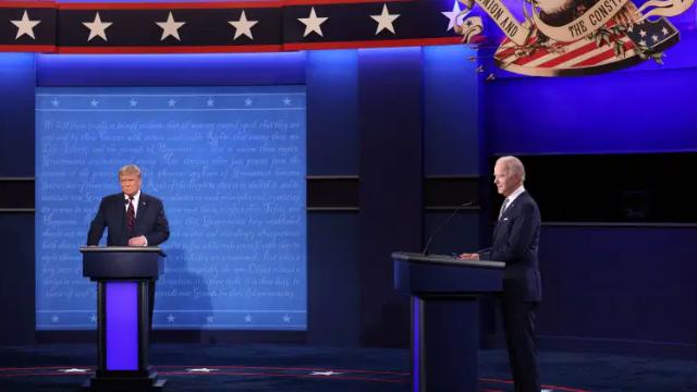 المناظرة الأخيرة بين ترامب وبايدن: أكثر إتّزانا