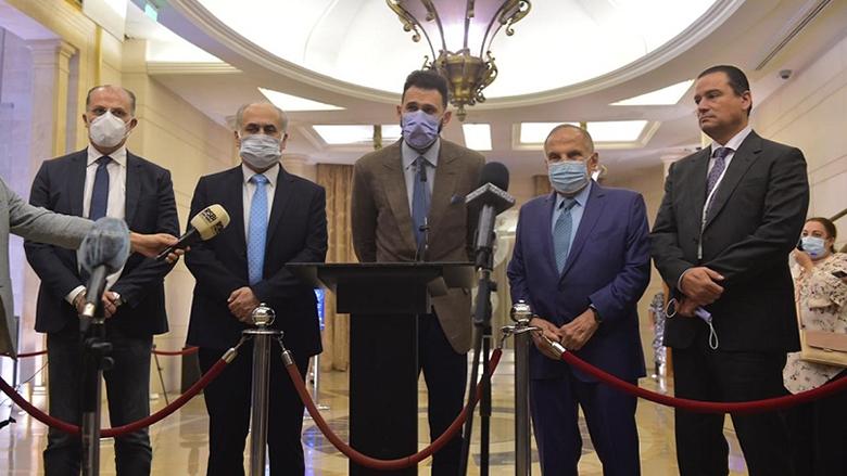 النائب جنبلاط بعد الاستشارات مع الحريري: لحكومة اختصاصيين وفقاً للمبادرة الفرنسية