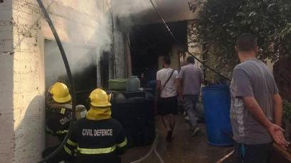 3 جرحى بانفجار قارورة غاز في مخيم البداوي