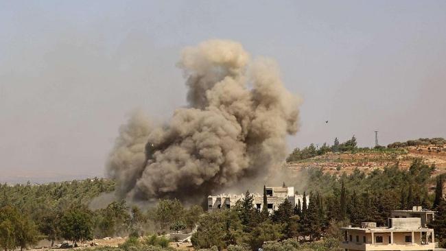 روسيا تشن أعنف غارة على فيلق الشام.. أكثر من 70 قتيلا
