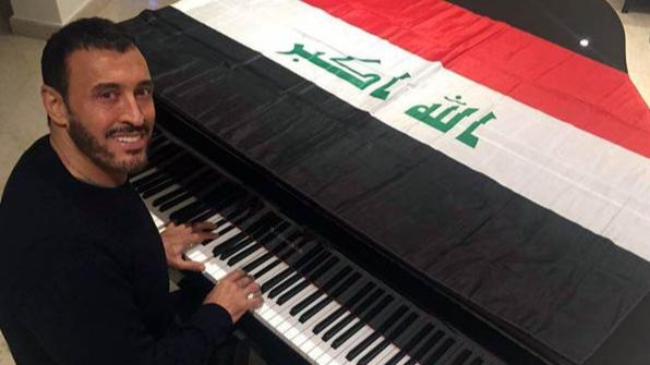 كاظم الساهر يهدي أغنيته الجديدة للشعب العراقي
