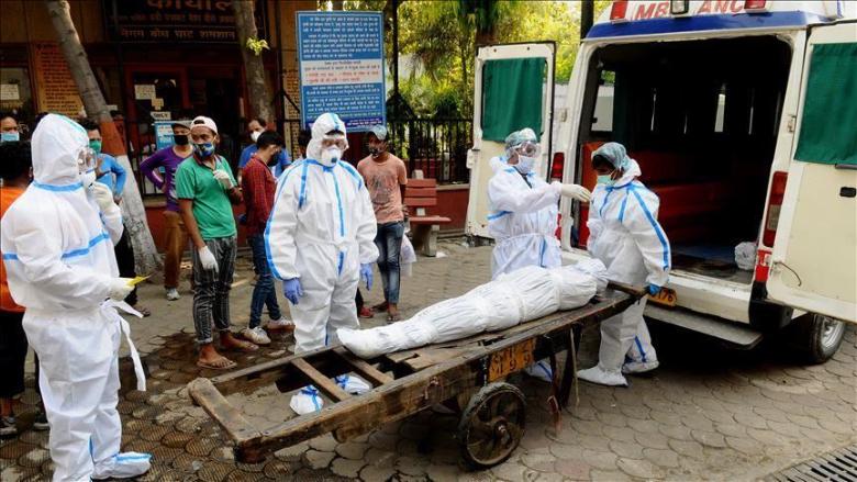 """عدد وفيات """"كورونا"""" في الهند يتجاوز المئة ألف"""