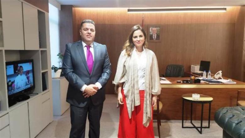 """عبد الصمد التقت مسؤول العلاقات الخارجية في مؤسسة """"العرفان"""""""
