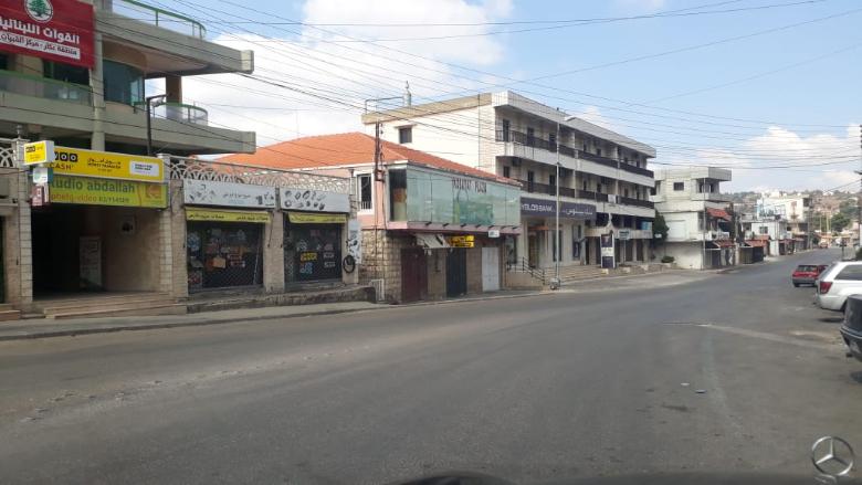 بالصورة: التزام قرار الإقفال في عكار