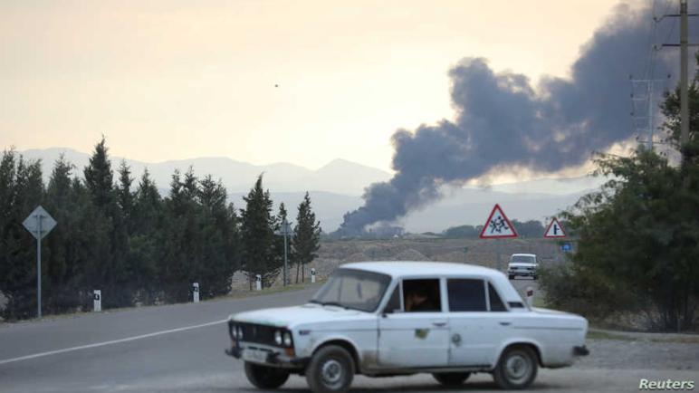 سوريون يقاتلون سوريين في معارك ناغورنو قره باغ