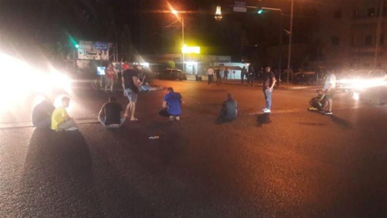 إشكال عند تقاطع إيليا بين متظاهرين وآخرين خلال وقفة احتجاجية