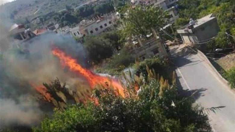 إخماد عدد من الحرائق في عكار