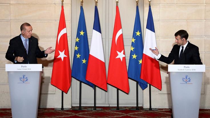 عقوبات فرنسية محتملة على تركيا
