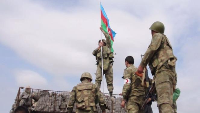 الجيش الأذري يدخل إقليم أغدام