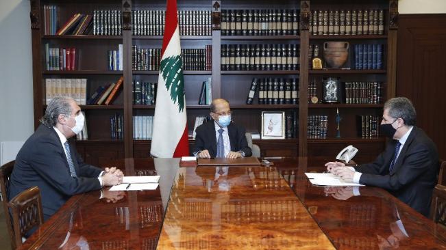 وزير المالية بعد لقائه عون: أبلغتنا ألفاريز ومارسال إنهاء إتفاقية التدقيق الجنائي في حسابات مصرف لبنان